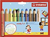 Stabilo Woody 3-in-1 Colored Pencils