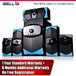 iBELL IBL2037BT 5.1 Home Theater Speaker Multimedia with FM Stereo, Bluetooth, USB/SD/MMC/AUX Function