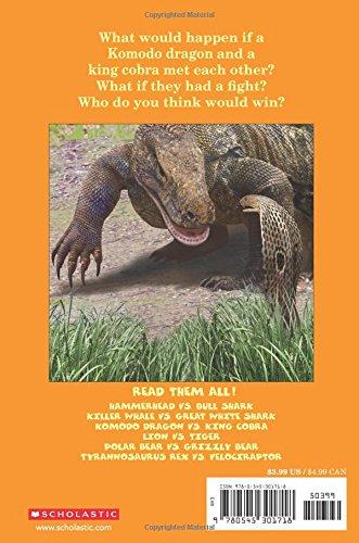 Komodo Dragon vs. King Cobra (Who Would Win?)