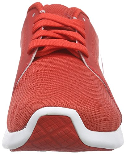 High Low 04 Risk Rot Erwachsene Puma St Unisex white Red Top Evo Trainer 7X48Hxwq