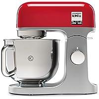 Kenwood KMX750RD Keukenmachine, Hoogwaardige metalen Behuizing, Hoogglans Gepolijste 5 Liter, Roestvrijstalen Kom met…