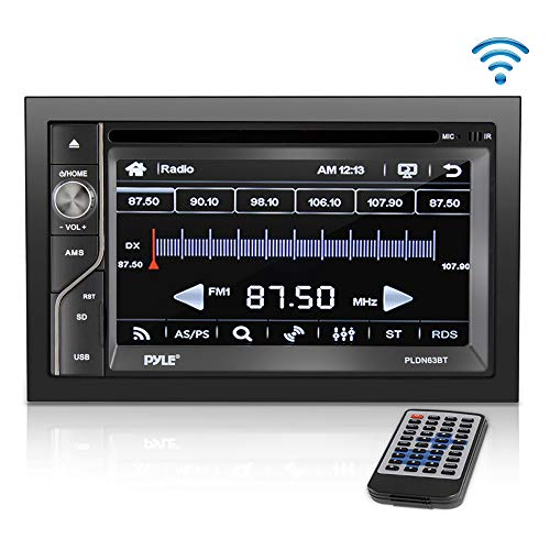 Upgraded Pyle Double Din Touchscreen | DVD CD Player | Bluetooth Handsfree Calling | 6.5 in LCD Monitor | USB/Micro SD Card Slot | AM FM Radio | RCA to AUX Input | Remote Control Included (PLDN63BT) (Best Paid Sports Streaming Sites)