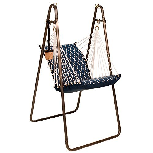 Algoma Net Soft Comfort Hanging Chair with Stand