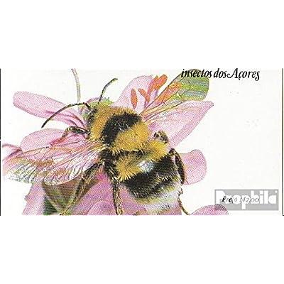 açores (Portugal) mh4 (complète.Edition.) 1984 Insectes (Timbres pour les collectionneurs)