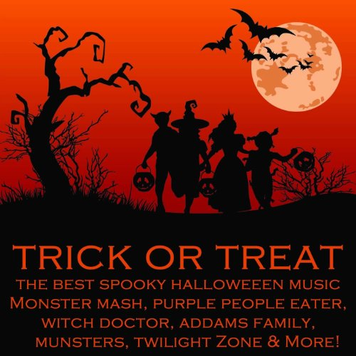 Amazon.com: Trick or Treat: The Best Spooky Halloween Music ...