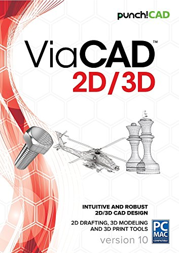 Punch! ViaCAD 2D/3D v10 by Punch