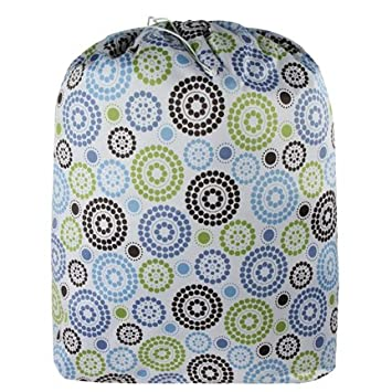 20d01ff9fa6 Amazon.com : Blueberry Diaper Laundry Bag or Pail Liner (Round About) : Baby