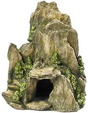 Europet Bernina Décor pour Aquarium en Polyrésine Pierre Mousse 19 cm