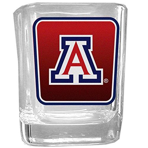 NCAA Arizona Wildcats Square Glass Shot Glass