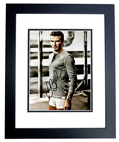 Image Unavailable. Image not available for. Color  David Beckham Signed  Photograph - Real Madrid ... 59c9417ec