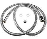Fapully Replacement of Pull Out Flexible Spray Hose Home Kitchen&Bathroom For Basin Bath Tap