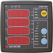 DATAKOM DKM-405 Network Analyser Multimeter Panel (3 Phase), 170-275V power supply