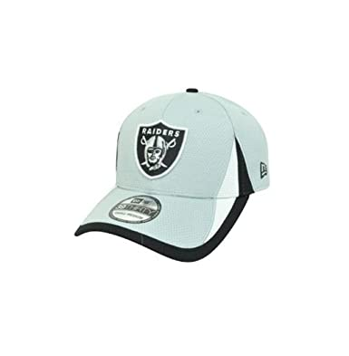 db3d0b4dc Image Unavailable. Image not available for. Color: New Era 39Thirty Hat  Oakland Raiders NFL Training Team ...
