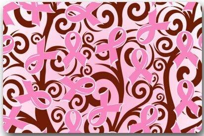 Breast Mat Mega - Usvbzd Breast Cancer Awareness Pink Ribbon Rectangle Entryways Non Slip Doormat Floor Mat - 23.6