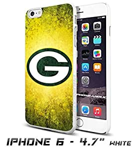 NFL Green Bay Packers Logo, , Cool iPhone 6 - 4.7 Inch Smartphone Case Cover Collector iphone TPU Rubber Case White [By PhoneAholic]