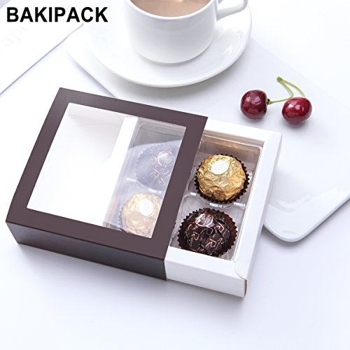 Chocolate Packaging Boxes Candy Boxes Small Gift Boxes With Window