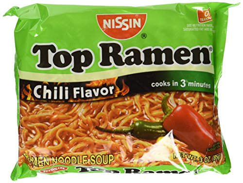Nissin Chili Flavor Instant Soup, 3 oz, 24 ct by Nissin