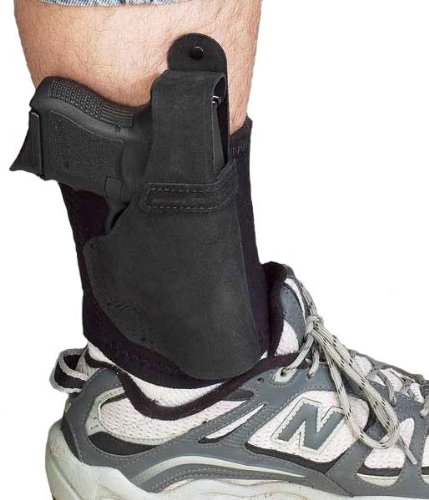 Galco AL636 Lite Ankle Holster for Ruger LC9, Right, Black from Galco