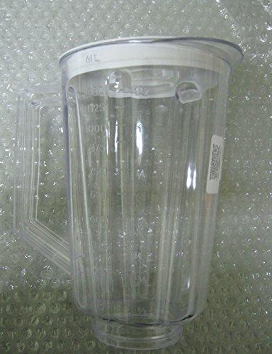 44 Oz Plastic Jar (Plastic Jar Replacement Part for Hamilton Beach Blender & Lid,44 oz,5 1/2 Cups)
