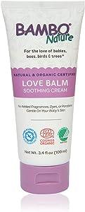 Bambo Nature Love Balm Soothing Cream, 3.4 fl oz Tube