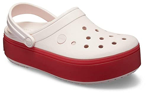 0353d2a1f Amazon.com | Crocs Women's Crocband Platform Clog | Mules & Clogs