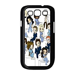 YUAHS(TM) New Cell Phone Case for Samsung Galaxy S3 I9300 with Grey's Anatomy YAS352563