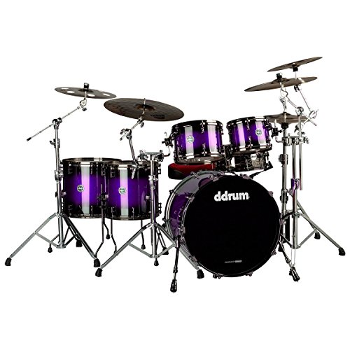 (ddrum MAX 522 PUR SPKL LIMITED Piece Drum Shell Pack, Purple Sparkle)