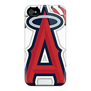 Excellent Hard Phone Cover For Iphone 6plus With Customized HD Los Angeles Angels Skin JasonPelletier