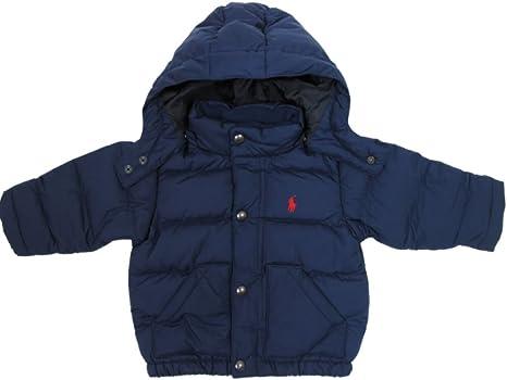 Bebé Niños Ralph Lauren de plumón anorak chaqueta con capucha ...