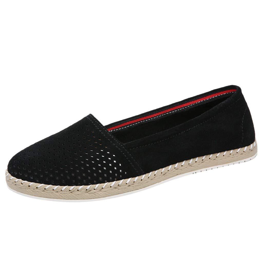 Shusuen Womens Classic Pointy Toe Ballerina Ballet Flat Shoes Flexpadrille Wedge Comfort Sneakers by Shusuen_shoes