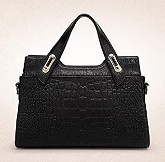 Fashion crocodile design,PU leather shoulder bag for ladies