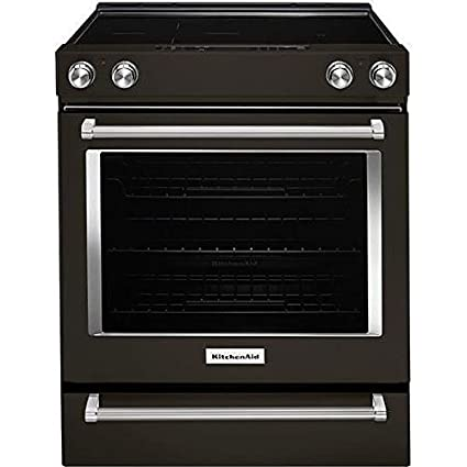 Beau Amazon.com: KitchenAid KSEG700EBS 6.4 Cu. Ft. Black Stainless Electric  Convection Range: Kitchen U0026 Dining