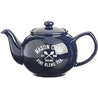 Mason Cash cerámica 6Taza Tetera, Azul