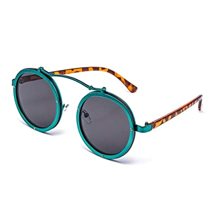 SWIMMM Gafas de Sol polarizadas Redondas de Estilo Retro ...