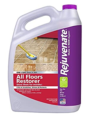 Rejuvenate All Floors Restorer Fills in Scratches, Protects and Restores Shine 1 Gallon
