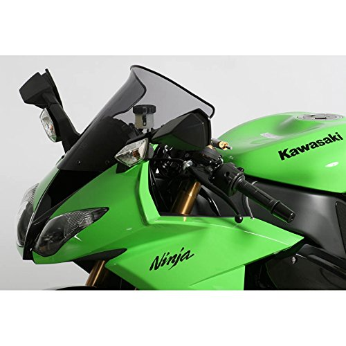 Spoilerscreen Windshield Mra (MRA SpoilerScreen Windshield for Kawasaki ZX6R, '09- and ZX10R, '08-'10 (Smoke Gray))