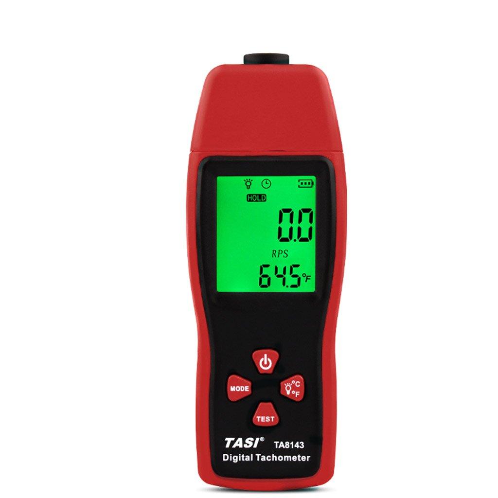 Exing Drehzahlmesser, TA8143 Digitaler Drehzahlmesser Laser RPM Gauge 2.5~99999RPM Berü hrungsloser Tachometer