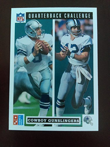 roger-staubach-troy-aikman-1991-upper-deck-dominos-pizza-quarterback-challenge-47-dallas-cowboys-hof