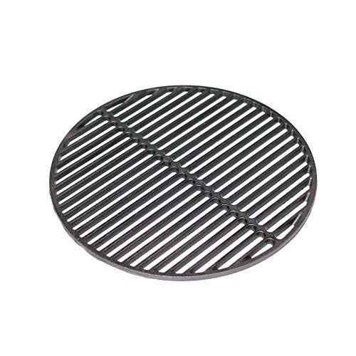 "Aura Outdoor Products Cast Iron Dual Side Grid Cooking Grate 18"" for Large Big Green Egg, Kamado Joe"
