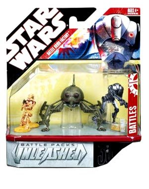 Star Wars Unleashed Battle Packs > Battle Droid Factory Action