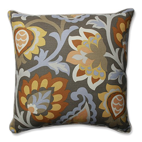Pillow Perfect Dynasty Frost Throw Pillow, 18""