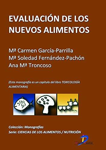 Descargar Libro Evaluación De Los Nuevos Alimentos Maria Del Carmen García Parrilla