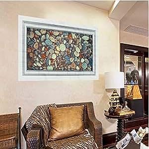Amazon.com: Wall Sticker 3D Vinyl Living Room Bedroom ...
