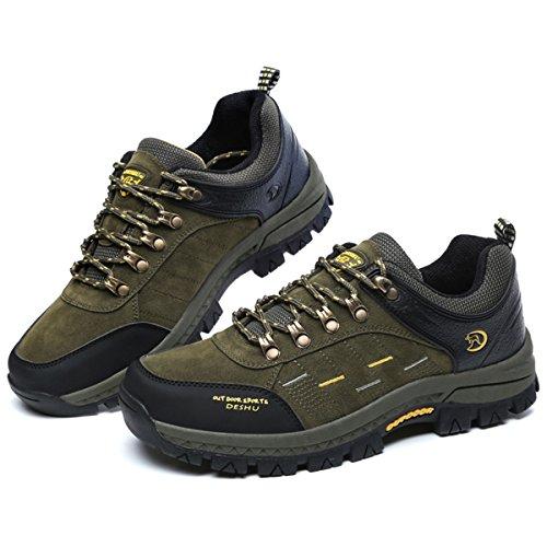 Voir Chaussures À Baskets Randonnée De tableau Outdoor Sneaker Course Training En Chassures Pour Homme Gracosy Suède Montagne Poiture Vert Multisport Ville Femme Rqfnfd
