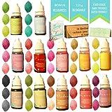 Skin Safe Food Coloring - 4.3 oz - Slime dye - Bath Bomb Kit- Bath Salt - Perfect Colorant for Soap Making Supplies - Bonus