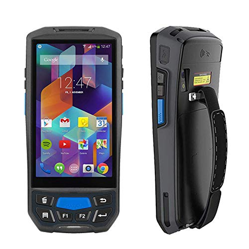 Android Barcode Scanner MUNBYN Rugged Handheld Mobile Terminal with 1D Honeywell Laser Reader, Touch Screen, Camera, Wireless 4G WiFi GPS BT for Delivery Shipping Warehouse Retail Inventory Management (Best Android Code Scanner)