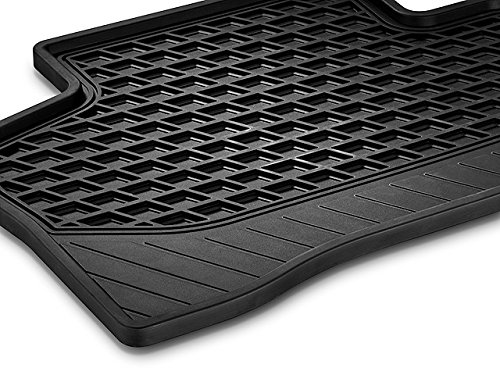 Genuine OEM Mercedes Benz GLC (X253) All Season Weather Floor Mats (Set of 2) Rear (Black) (Oem Mercedes Accessories)