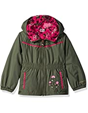 LONDON FOG Baby Girls' Reversible Soft & Sensible Jacket Coat
