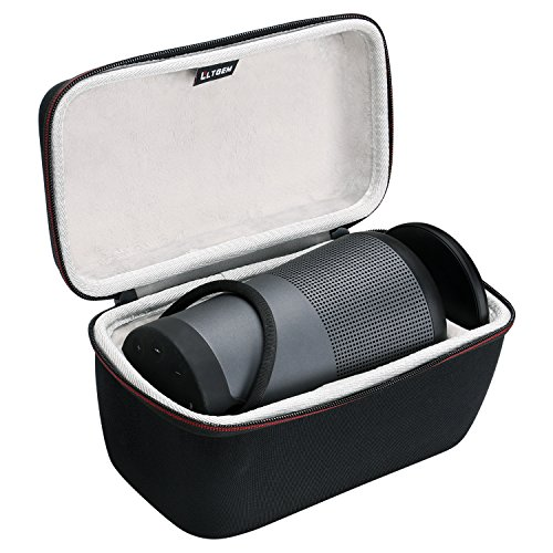 LTGEM Hard Case for Bose SoundLink Revolve+ Portable & Long-Lasting Bluetooth 360 Speaker (Fits Charging Cradle, AC Adaptor and USB Cable)
