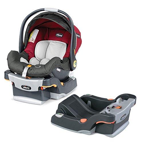 Chicco KeyFit 30 Infant Car Seat/Base with Extra Car Seat Base, Granita